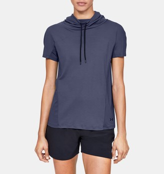 Under Armour Women's UA Iso0Chill Cowl Neck Short Sleeve