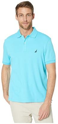 Nautica Short Sleeve Solid Interlock Polo (Cradle Pink) Men's Short Sleeve Pullover