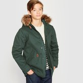 La Redoute Collections Hooded Parka with Faux Fur Hood, 10-16 Years