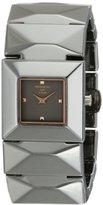 Kenneth Jay Lane Women's KJLANE-2804 Mode Analog Display Japanese Quartz Grey Watch