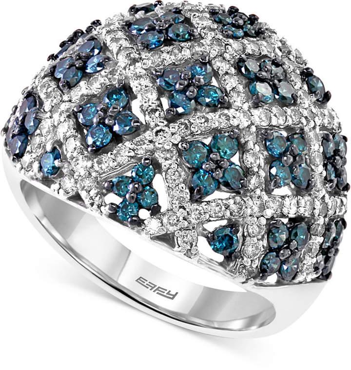 Effy Diamond Dome Ring (2 ct. t.w.) in 14k White Gold
