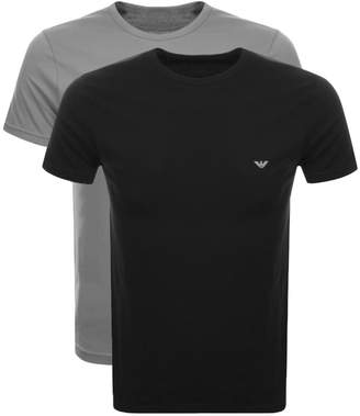 Giorgio Armani Emporio 2 Pack Lounge T Shirts