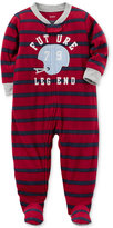 Carter's 1-Pc. Striped Future Legend Footed Pajamas, Toddler Boys (2T-5T)