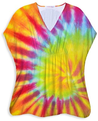 Stella Cove Little Girl's & Girl's Tie-Dye Cover-Up