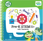 Vtech LeapFrog Level 2 Leapstart Pre-K STEM Spiral-Bound Book