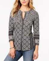 Lucky Brand Geometric-Print Shirt
