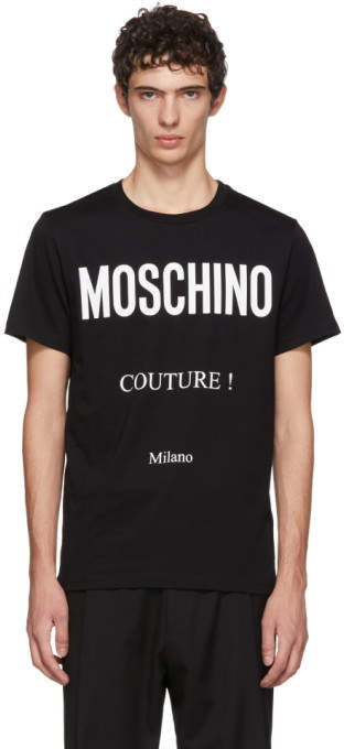 Moschino Black Couture T-Shirt