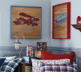 Pottery Barn Kids Personalized Transportation Art