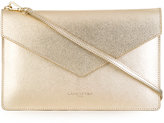 Lancaster high-shine clutch bag - women - Leather - One Size
