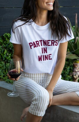 Sub Urban Riot Partners in Wine Graphic Tee