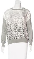Band Of Outsiders Silk-Blend Paneled Sweater