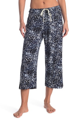 Hue Wild Leo Animal Print Capri Pajama Pants