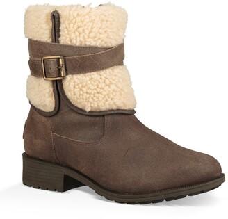 UGG Blayre III Wool Cuff Bootie