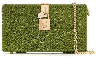 Dolce & Gabbana Dolce Box rhinestone-embellished clutch