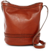 Cole Haan Shelly Leather Bucket Hobo