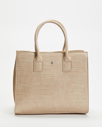 PETA AND JAIN - Women's Brown Tote Bags - Valentine Tote Bag - Size One Size at The Iconic