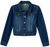 Mudd Girls 7-16 & Plus Size Knit Denim Jacket