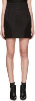 Balmain Black High-Rise Skirt