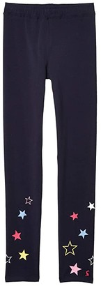 Joules Kids Emilia Luxe (Toddler/Little Kids/Big Kids) (Blue) Girl's Casual Pants