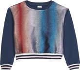 No Added Sugar Glitter stripe sweatshirt 4-12 years