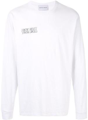 Strateas Carlucci signature print T-shirt