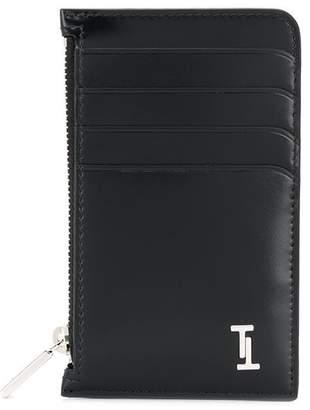 Tod's Double T logo plaque cardholder