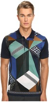 Versace Printed Polo Men's Clothing