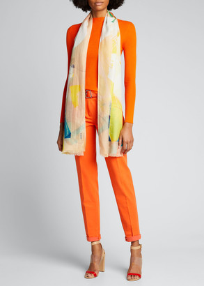 Akris Seamless Cashmere-Silk Sweater