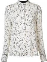 Proenza Schouler double vine print blouse