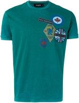 DSQUARED2 slogan T-shirt