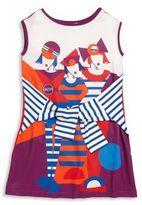 Junior Gaultier Toddler's, Little Girl's & Girl's Tie-Front Girl-Print Dress