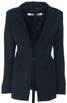 Dirk Bikkembergs Navy Jacket for Women
