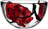Kosta Boda Rose Tattoo Bowls