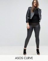 Asos Leather Look Legging