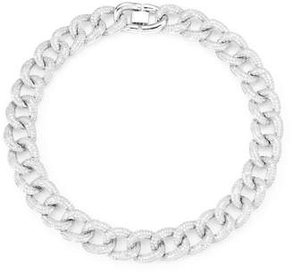 Fallon Armure Crystal Pave Collar Necklace
