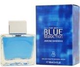 Antonio Banderas Blue Seduction by for Women - 3.4 oz EDT Spray by