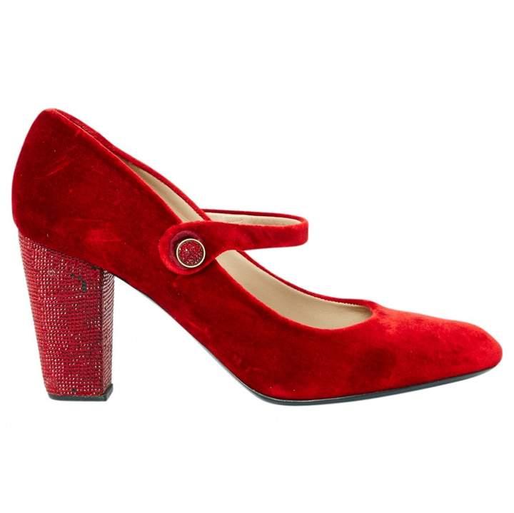 Marc Jacobs Velvet Court Shoes