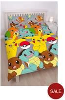 Pokemon Catch Reversible Double Duvet Cover Set