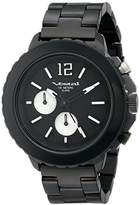 Vestal Men's YATCM01 Yacht Metal Analog Display Japanese Quartz Black Watch
