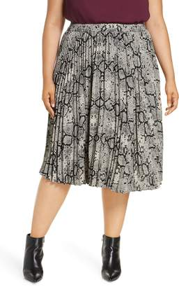 Halogen Pleated Skirt