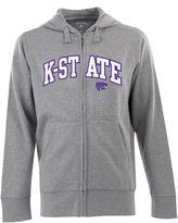 Antigua Men's Kansas State Wildcats Signature Zip Front Fleece Hoodie