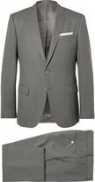 Hugo Boss - Grey Hudson Super 130s Virgin Wool Suit
