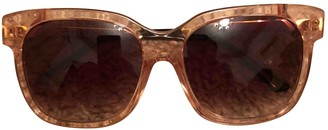 Thierry Lasry Gold Plastic Sunglasses