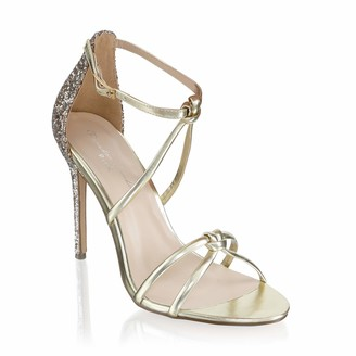 Paradox London Pink Women's Helena Ankle Strap Sandals