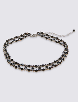 M&S Collection Lattice Choker Necklace