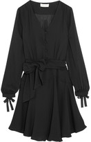Paul & Joe Eflamenco Crepe Mini Dress - Black