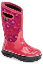 Bogs Girl's 'Classic High - Watercolor' Waterproof Boot