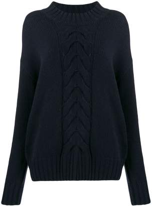 N.Peal chunky cable knit jumper