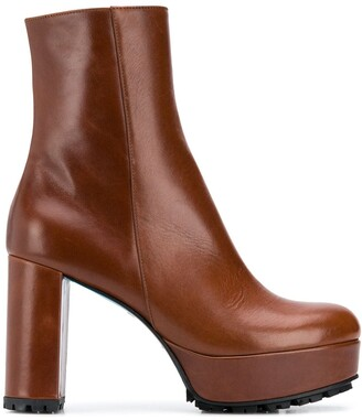 Dorothee Schumacher Sporty Elegance block heel boots