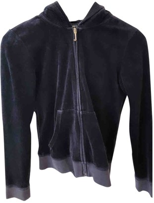 Juicy Couture Black Cotton Jacket for Women